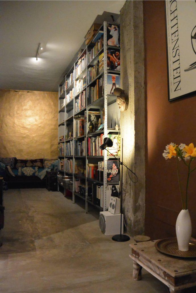 Casa Bermejo | Bibliothek